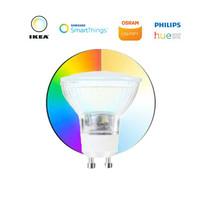 LED pendant lamp HALO single ring black ø527 mm