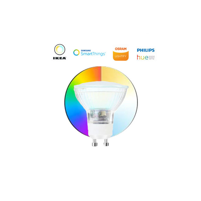 Dimmable RGB WW