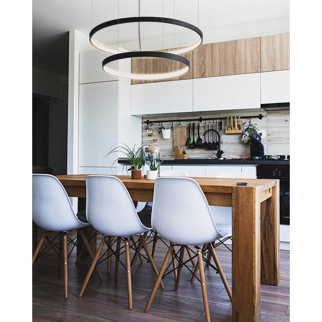LED ring hanglamp HALO ø790 mm - zwart