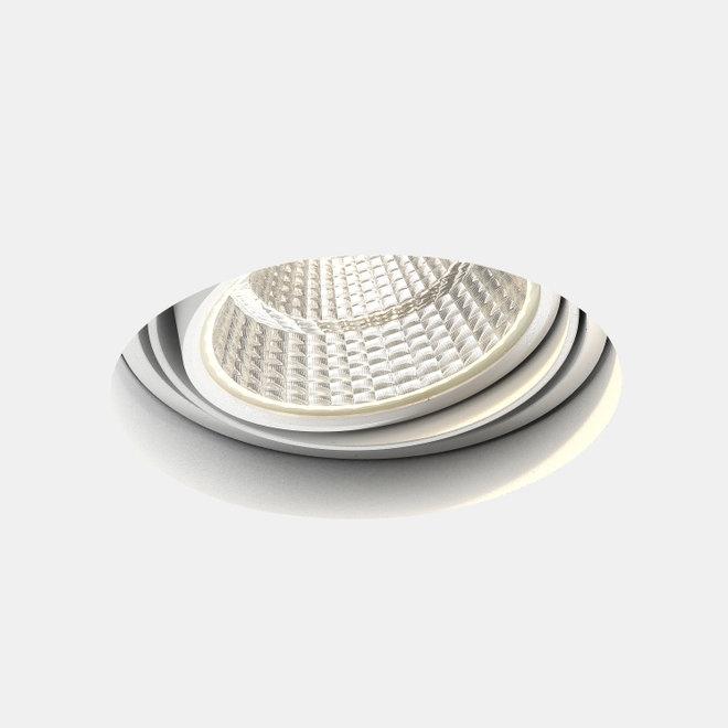Trimless recessed LED spot BLEND round white ø132 mm