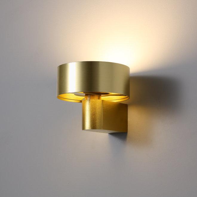 LED wall lamp DISC ø148mm black