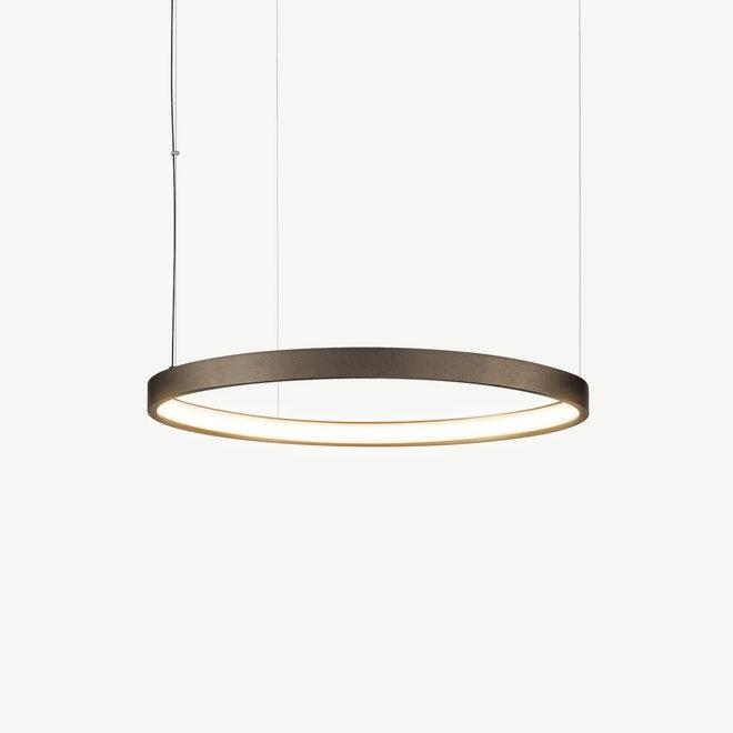 LED ring pendant lamp HALO ø660 mm - bronze