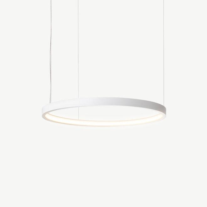 LED ring pendant lamp HALO ø660 mm - white