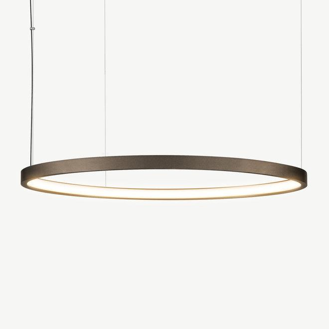 LED ring pendant lamp HALO ø920 mm - bronze