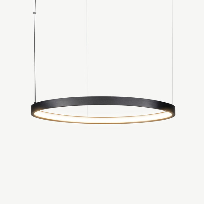 LED ring pendant lamp HALO ø790 mm - black