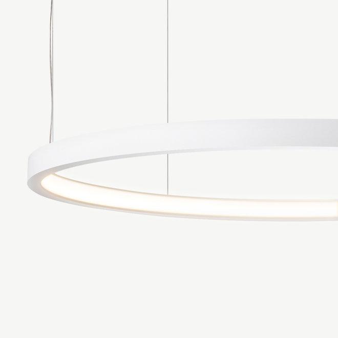 LED ring pendant lamp HALO ø790 mm - white
