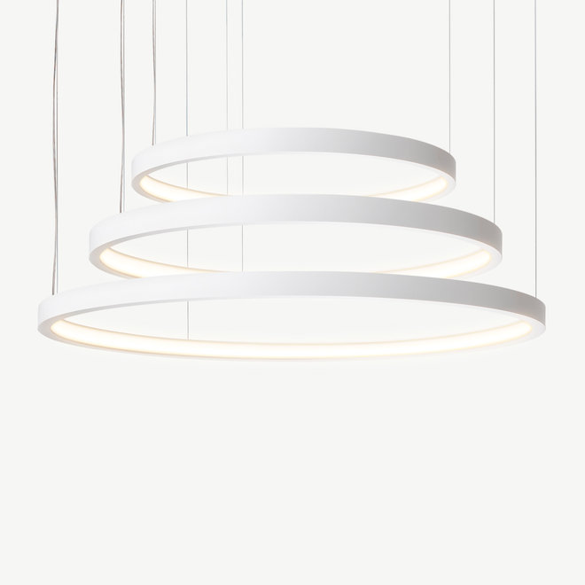 LED 3-ring hanglamp HALO ø920 mm - wit