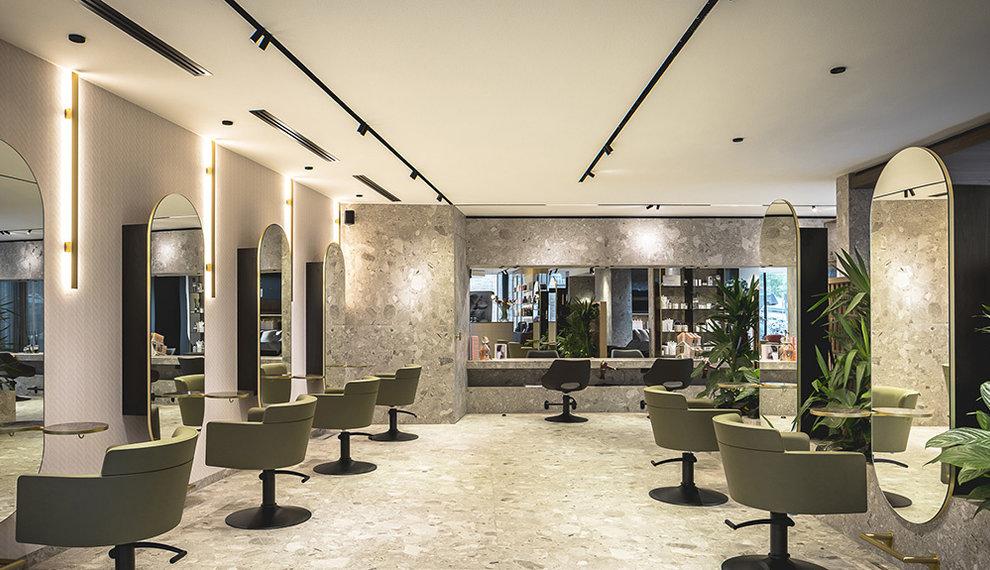 Project: Brutal Salon Bosman, Alkmaar (the Netherlands)