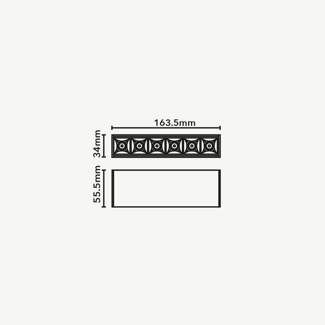 CLIXX magnetic track light system - DOT06 LED module - white