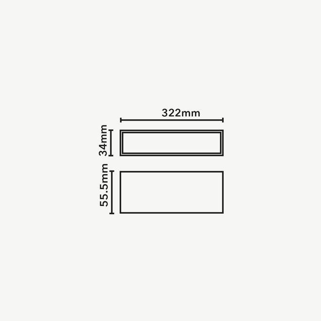 CLIXX magnetic track light system - LINE32 LED module - black
