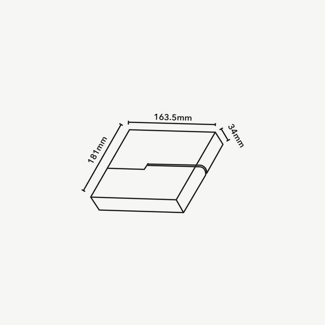 CLIXX magnetic track light system - Fold06 DOTS LED module - black