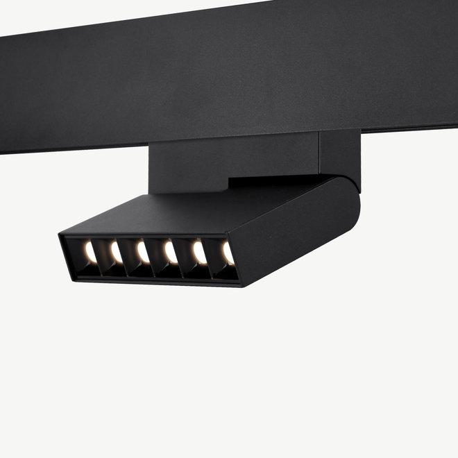 CLIXX magnetic LED module FOLD06 DOTS - black