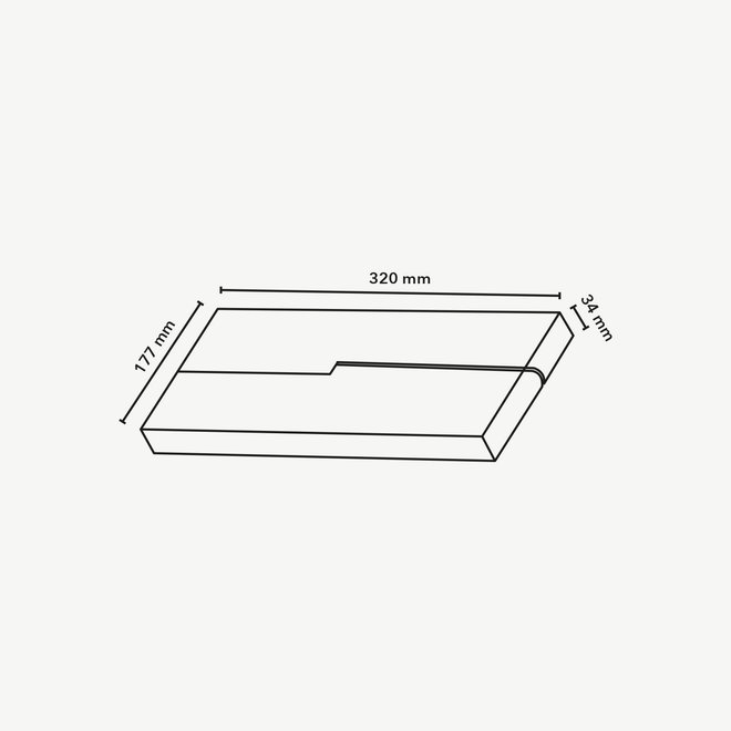 CLIXX magnetic track light system - FOLD12 LED module - black