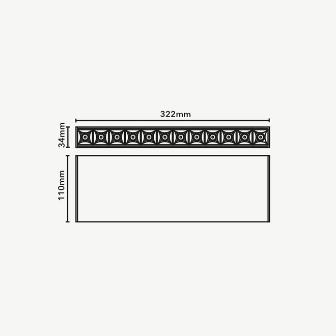 CLIXX magnetisch rail verlichtingssysteem - OUT12 LED module - zwart
