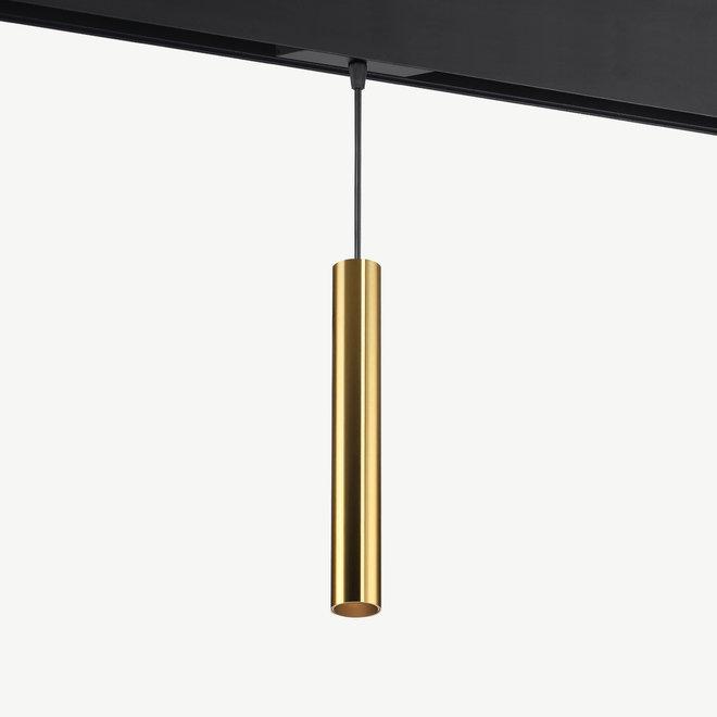 CLIXX magnetisch rail verlichtingssysteem - TUUB Hanglamp 35 LED module - goud