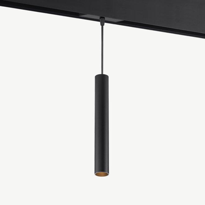 CLIXX magnetic track light system - TUUB PENDANT 35 LED module - black