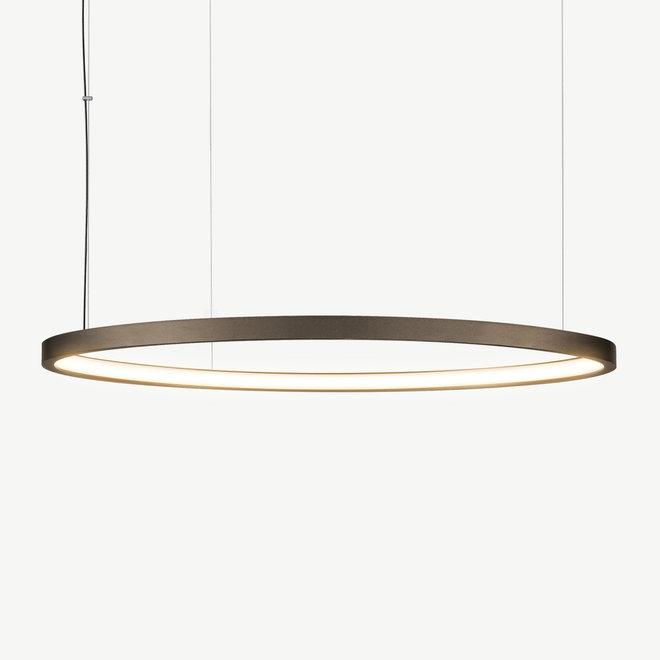 LED ring hanglamp HALO ø1200 mm - brons