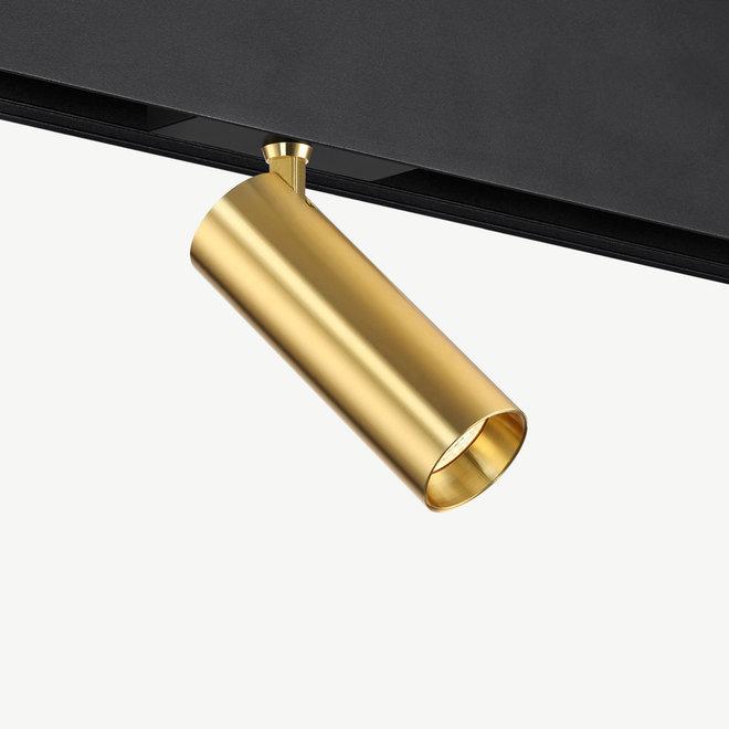 CLIXX SLIM magnetic track light system - SPOT50 LED module - gold