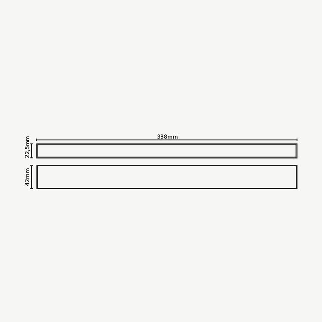 CLIXX SLIM magnetic track light system - LINE40 LED module - white
