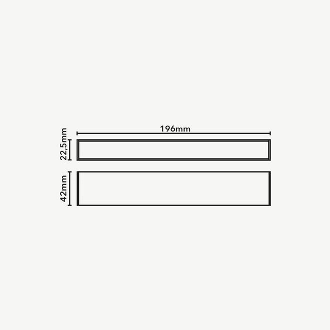 CLIXX SLIM magnetic track light system - LINE20 LED module - white