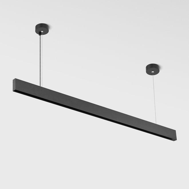 CLIXX magnetic tracks - pendant profile - black