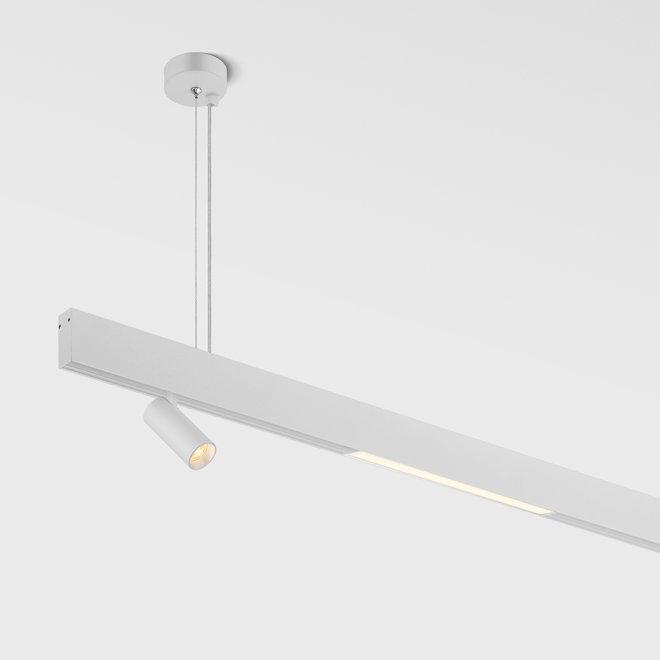 CLIXX magnetic track light system - pendant profile - white