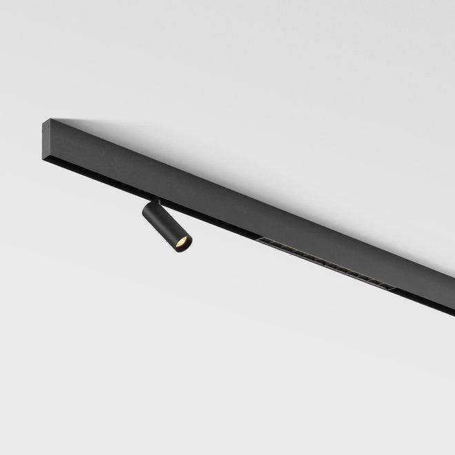 CLIXX magnetisch rail verlichtingssysteem - opbouw profiel - zwart