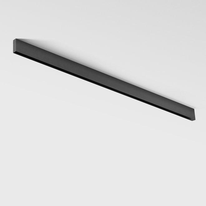 CLIXX magnetische tracks  - opbouw profiel - zwart
