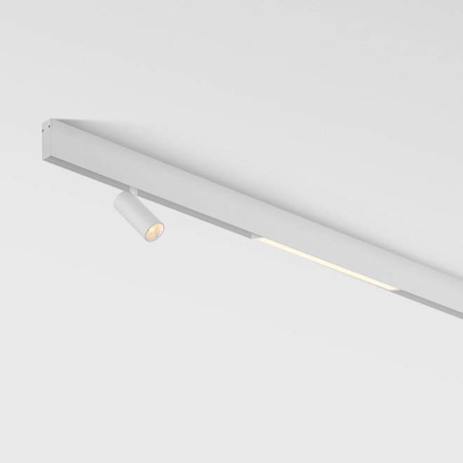 CLIXX SLIM magnetic track light system - surface profile - white
