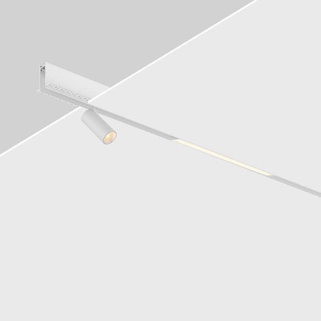 CLIXX SLIM magnetisch rail verlichtingssysteem - inbouw (trimless) profiel - wit