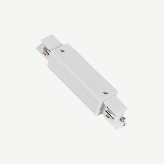 ONTRACK 3-phase tracks - surface profile I-connector - white