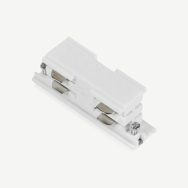 ONTRACK 3-phase track lighting system - surface profile internal I-connector - white