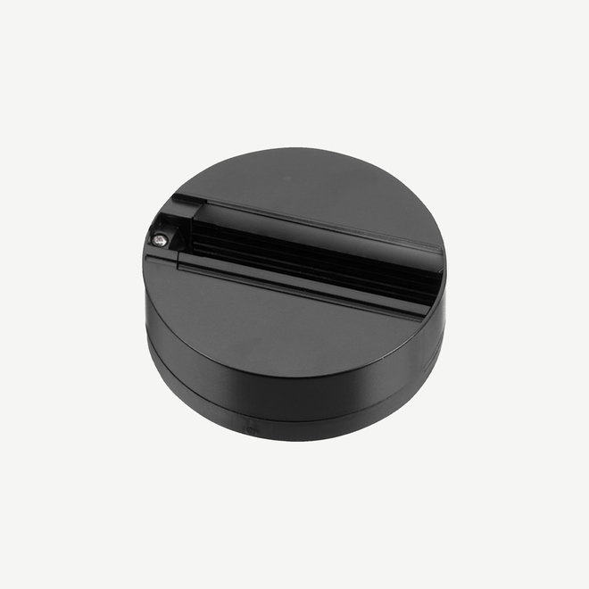 ONTRACK 3-phase track lighting system - surface profile monopoint - black