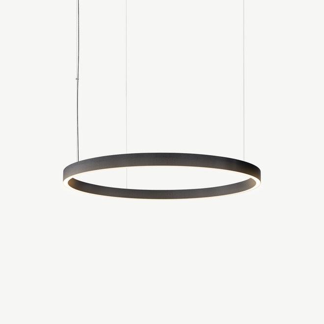 LED ring hanglamp HALO Up-Down ø600 mm - zwart