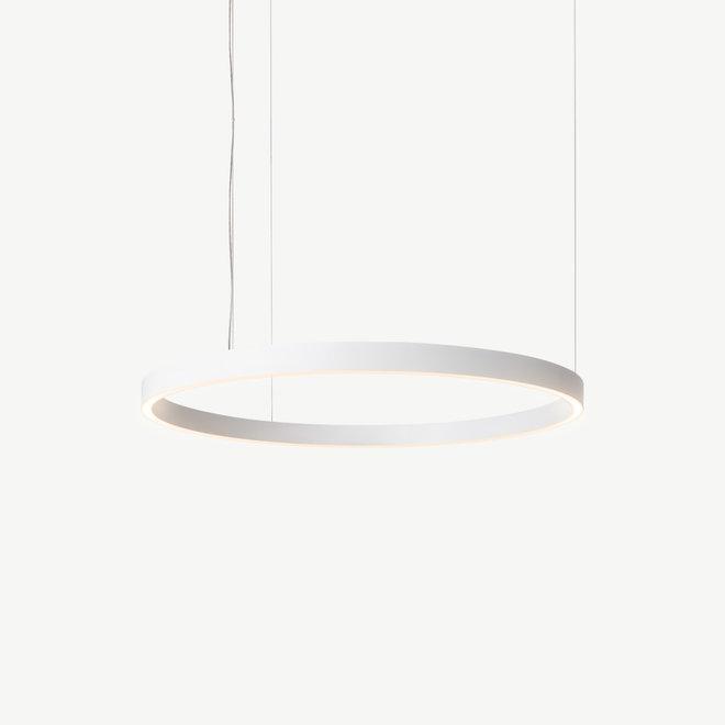 LED ring pendant lamp HALO Up-Down ø600 mm - white