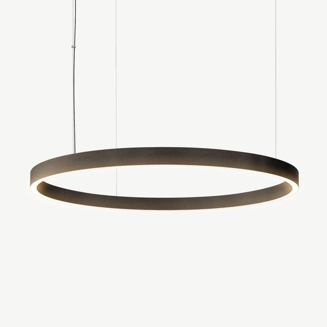 LED ring hanglamp HALO Up-Down ø900 mm - brons