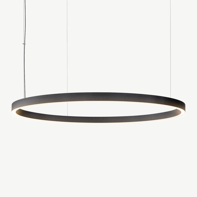LED ring hanglamp HALO Up-Down ø1200 mm - zwart