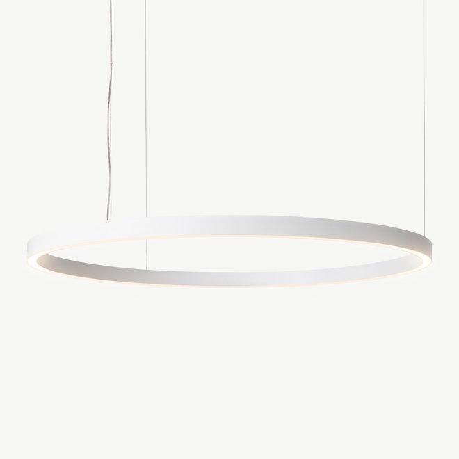 LED ring pendant lamp HALO Up-Down ø1200 mm - white