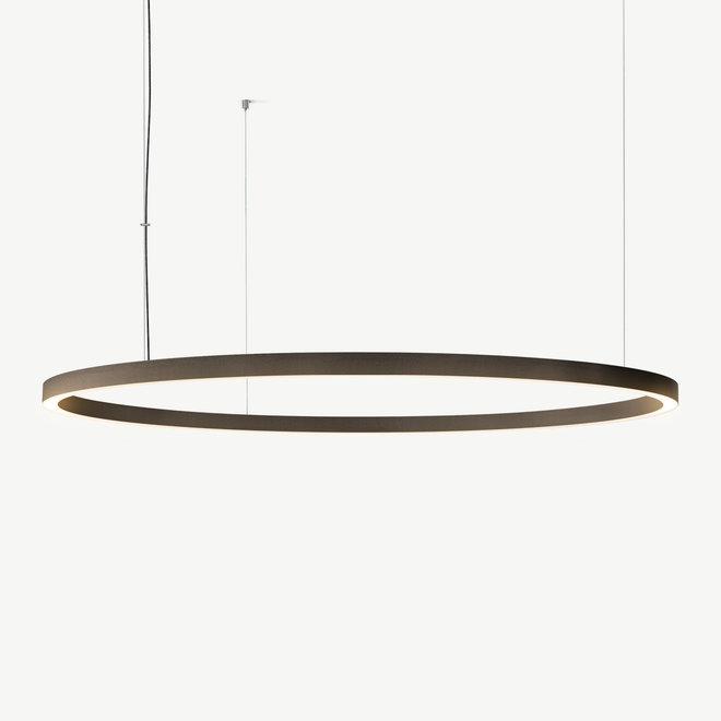 LED ring hanglamp HALO Up-Down ø1800 mm - brons
