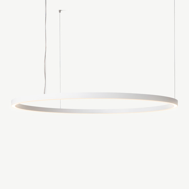 LED ring hanglamp HALO Up-Down ø1800 mm - wit