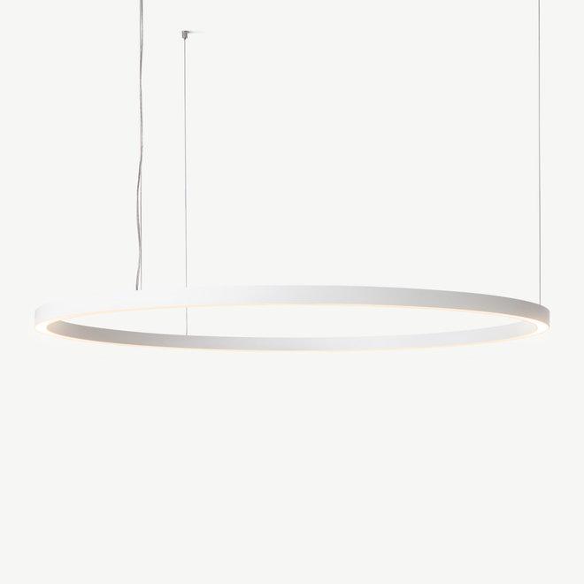 LED ring pendant lamp HALO Up-Down ø1800 mm - white