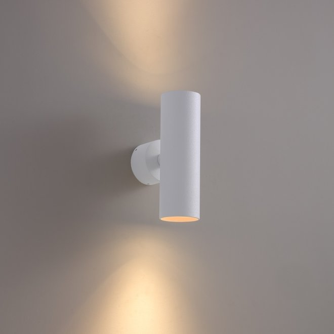 Surface wall spot TUUB up-down with GU10 fitting - white