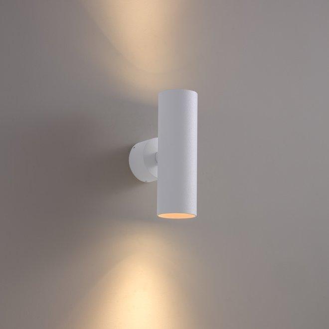 Wall spot TUUB up-down - white