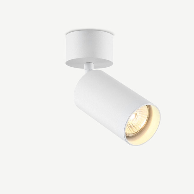 Surface ceiling spot TUUB with GU10 fitting - white