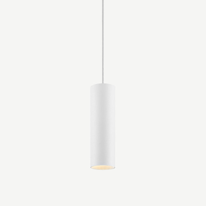 Hanglamp TUUB 200 mm met GU10 fitting - wit