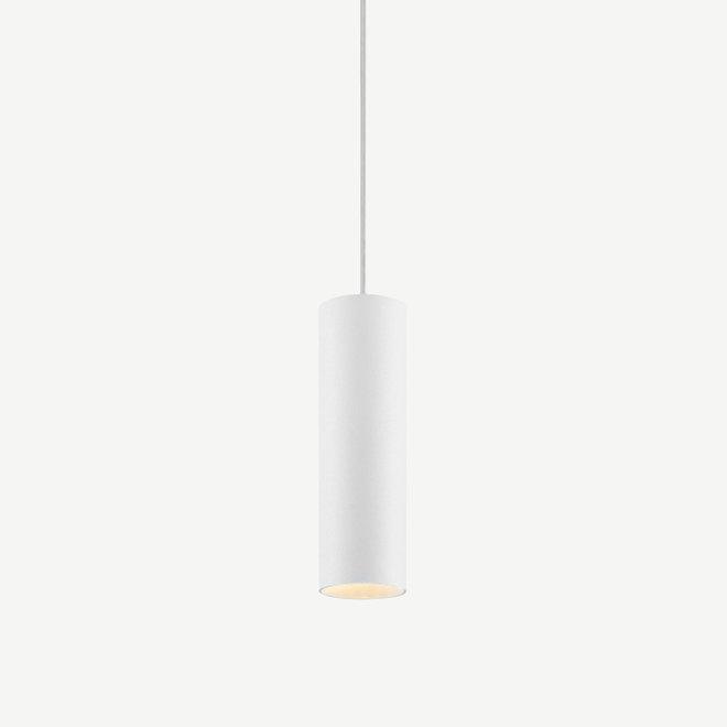 Pendant lamp TUUB 200 mm with GU10 fitting - white