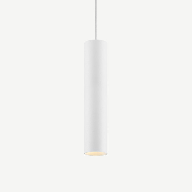 Pendant lamp TUUB 300 mm with GU10 fitting - white
