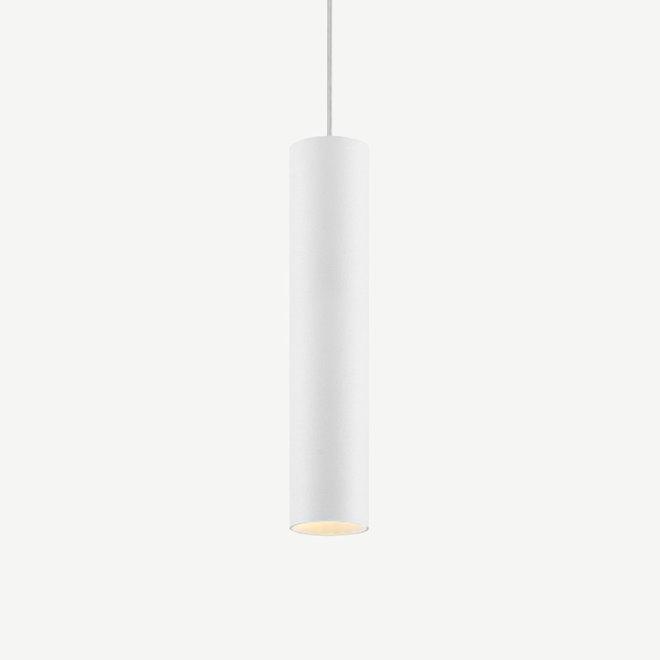Hanglamp TUUB 300 mm met GU10 fitting - wit