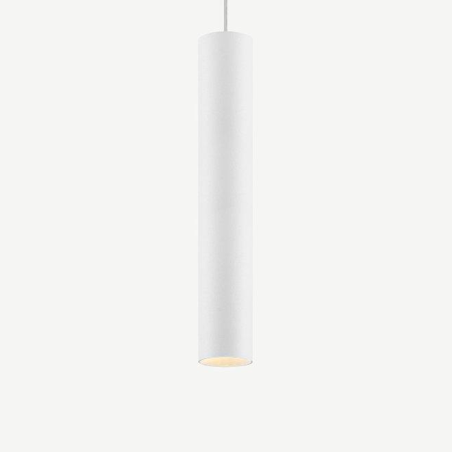 Pendant lamp TUUB 400 mm with GU10 fitting - white