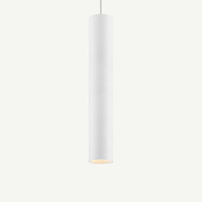 Pendant lamp TUUB 400 mm - white